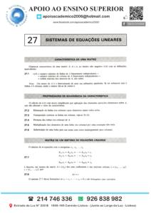 Explicações Álgebra Linear